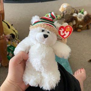 Other - Chillingsly polar bear beanie baby